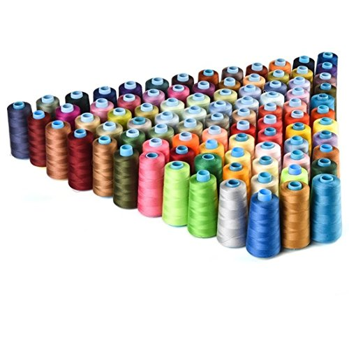 30 Spools Mixed Colors 100% Polyester Sewing Quilting Threads All Purpose - Timings Macy's