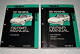 1994 Toyota MR2 Factory Repair Manuals (SW20, SW21 Series, 2 Volume Complete Set)