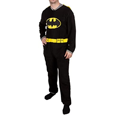 Batman - Mens Costume Union Suit With Cape - Small Black  sc 1 st  Amazon.com & Amazon.com: Batman - Mens Costume Union Suit With Cape: Clothing