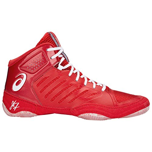 ASICS JB Elite III Unisex Wrestling Shoe, Classic Red/White, 10 M US (The Best Wrestling Shoes)