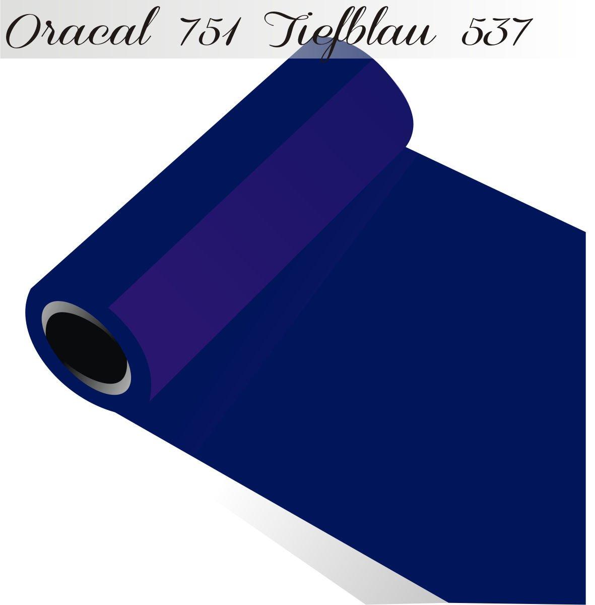 Oracal 751 PVC Film Orafol Foil 5 m (Running Metres) Choose 118 Glossy Colours – In 4 sizes 100 cm 537 Predector Height Dark bluee