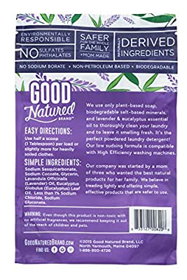 Good Natured Brand Lavender and Eucalyptus Laundry Soda