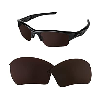 b943cd1358 Sunglasses Restorer Polarizadas Black Iridium Lentes de repuesto para  Oakley Flak Jacket XL