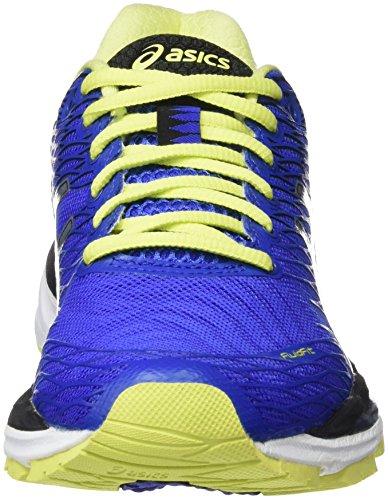 Asics Gel-Nimbus 18 (Rio), Zapatillas de Running para Mujer Azul (Blue Purple/Silver/Sunny Lime)