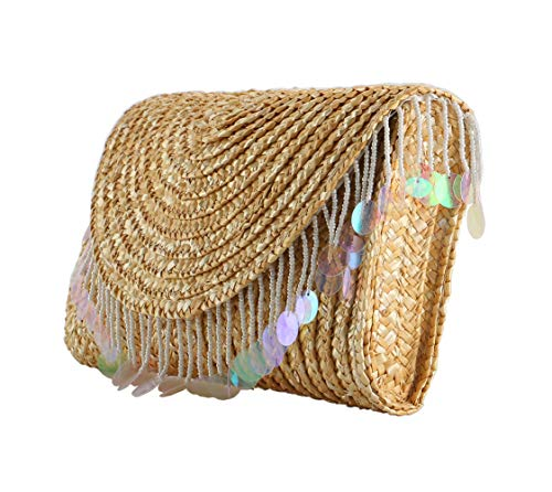 Straw Clutch Summer Evening...