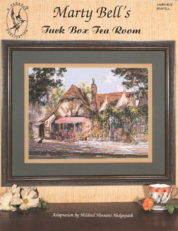 - Pegasus Originals Tuck Box Tea Room by Marty Bell Counted Cross Stitch Chart Pack