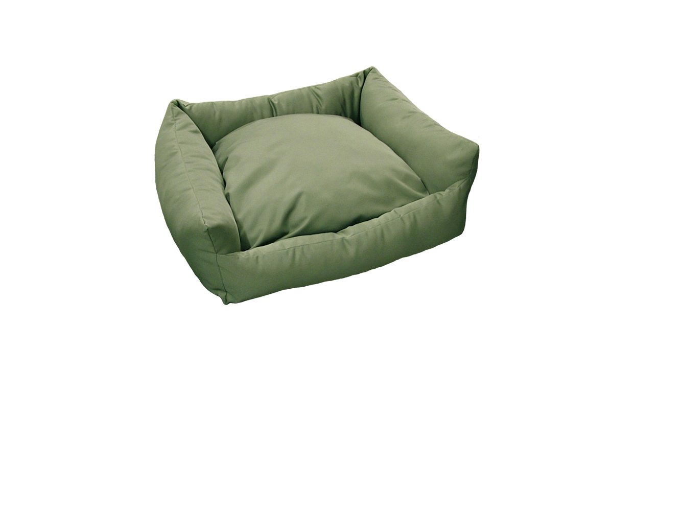 Green 56 x 56 cm Green 56 x 56 cm Dog & Co Waterproof Square Dog Bed, 56 x 56 cm, Green