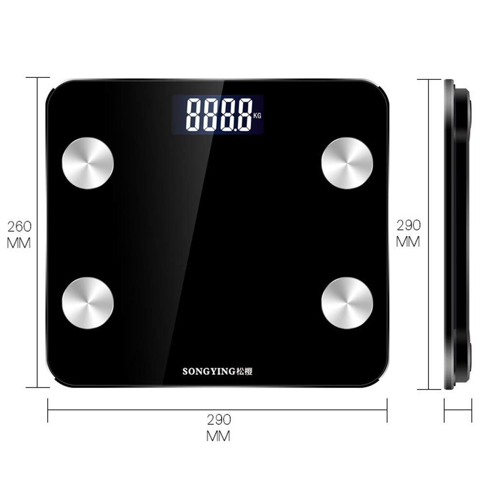 ZTXY Balanzas de baño de Peso Digital Smart Bluetooth ...