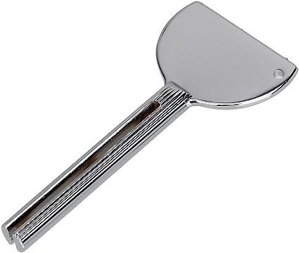 Metal tubo de pasta de dientes exprimidor belleza tinte para cabello con escurridor giratorio en forma de U