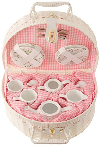 (Delton Products Pink Chintz Children's Tea Set for Two)