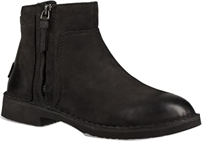 UGG Womens Rea Ankle Boot Black Size 8
