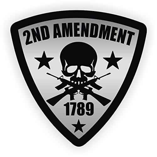 3つ( 3 ) Best Seller 2 nd Amendment溶接機ハード帽子ステッカーUSA Union |溶接ヘルメットデカール| FunnyラベルバッジツールボックスLaborer Construction Truckerカウボーイ  B078D6WRGT