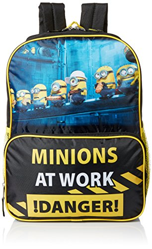 Despicable Me Boys' 16 Inch Backpack More Minions, Multi, One Size