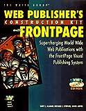 FrontPage 97 Web Designer's Guide, Gary L. Allman and Michael C. Stinson, 157169045X