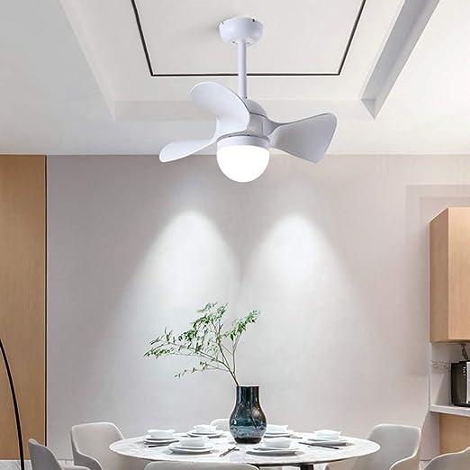 MLDSJQJ Ventilador eléctrico Luz de Ventilador de Techo pequeña ...