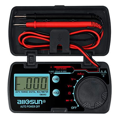 ALLOSUN Pocket Size Digital Multimeter Auto Range