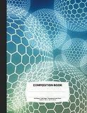 Hexagonal Graph Paper Composition Notebook: Organic