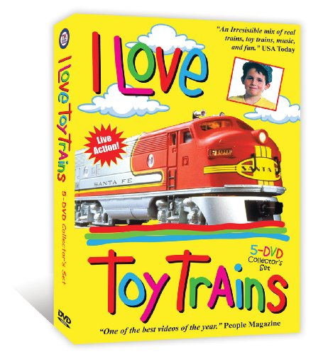 (I Love Toy Trains 5-DVD Boxed Set)