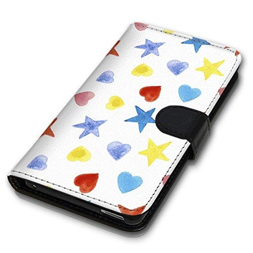Wallet Book Style Flip Handy Tasche Case Schutz Hülle Schale Motiv Etui für Apple iPhone 5 / 5S - Design Flip MVD64