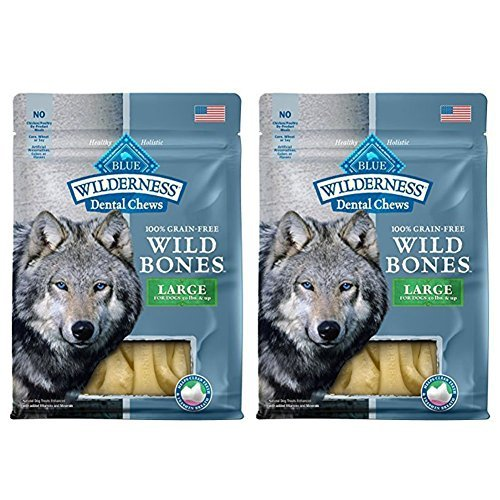 Cheap Blue Wilderness Grain Free Wild Bones Dental Chews (2 Pack) – Large