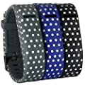 HopCentury New Style Replacement Fitbit Flex Wrist Band Bracelet Strap Adjustable Wristband with Buckle and Secure Sleeve for Fit bit Flex Tracker - Dot Pattern