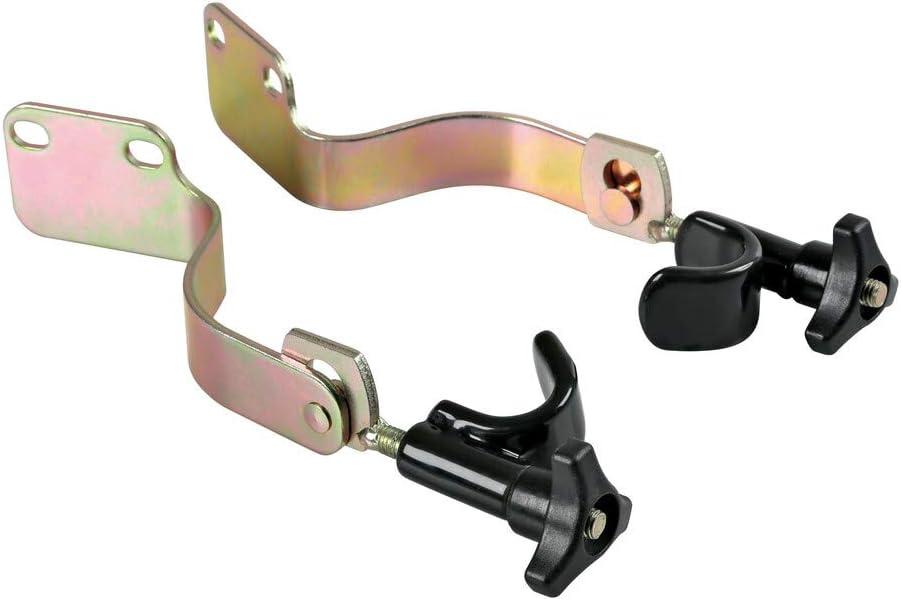 AutoCommerse Lot de 2 verrous de porte antivol suppl/émentaires gauche et droite pour Scania S R s/érie 7