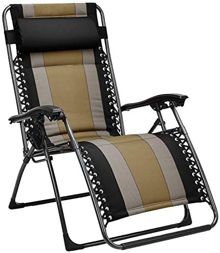 AmazonBasics Padded Gravity Chair Black product image