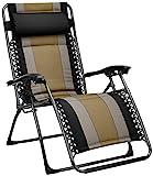 AmazonBasics Padded Zero Gravity Chair- Black
