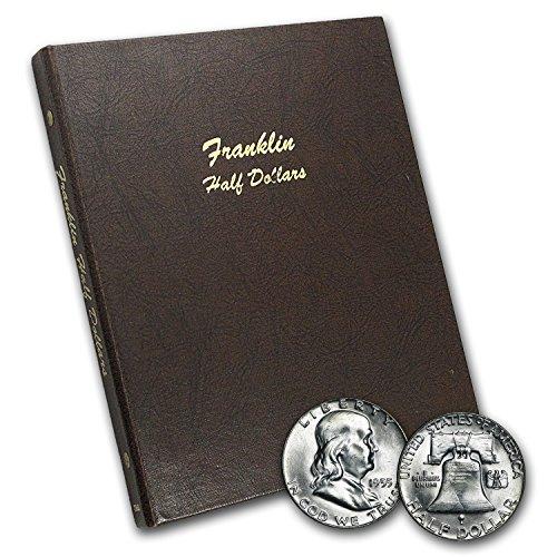 1948-1963 Franklin Half Dollar Set BU (Dansco Album) Brilliant ()