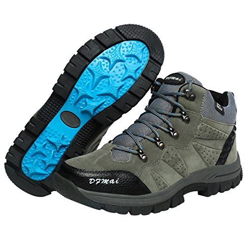 and Trekking Hiking Women's Laces Low Speed Rise Waterproof ENMAYER Grey Shoes nqHwOxBW
