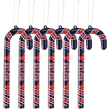 Forever Collectibles MLB Boston Red Sox Candy Cane Ornament Set