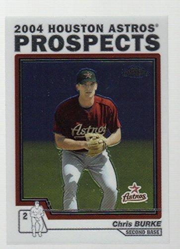 Chris Burke Baseball (2004 Topps Chrome Traded #T97 Chris Burke Houston Astros)
