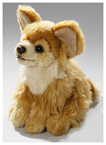 Carl Dick Chihuahua Brown Sitting Dog 6.5 inches, 17cm, Plush Toy, Soft Toy, Stuffed Animal 2775001