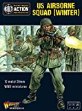 Bolt Action Us Airborne Squad (winter) Blister - Metal
