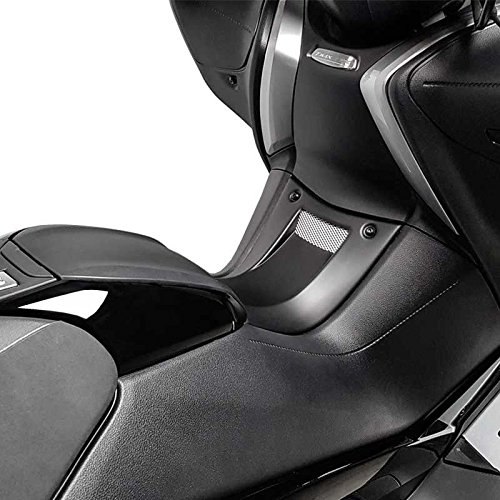 Tunnel dadmission BCD Prise Dair Yamaha T-Max 530 TMax DX SX 2017 Noir Mat