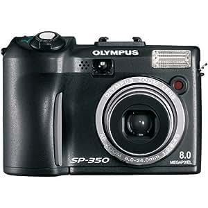 Olympus SP-350 8MP Digital Camera with 3x Optical Zoom (Black)