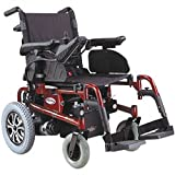 CTM - HS-6200 - Folding Power Chair - 18' x 18' Seat - Red