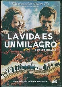 LA VIDA ES UN MILAGRO (Life is a Miracle) [NTSC/REGION 1 & 4 DVD. Import-Latin America] by: Emir Kusturica (Spanish subtitles)