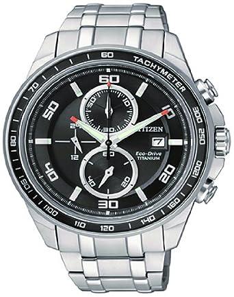 Citizen CA0340-55E - Reloj para hombres, correa de titanio