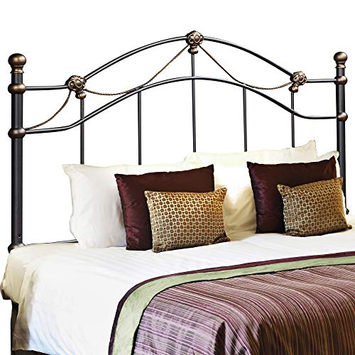 Monarch Specialties Combo Head or Footboard, 60-Inch, Hammered Black