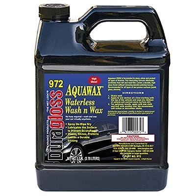 Duragloss 972 Aqua Wax Waterless Wash, 1 Gallon, 1 Pack: Automotive