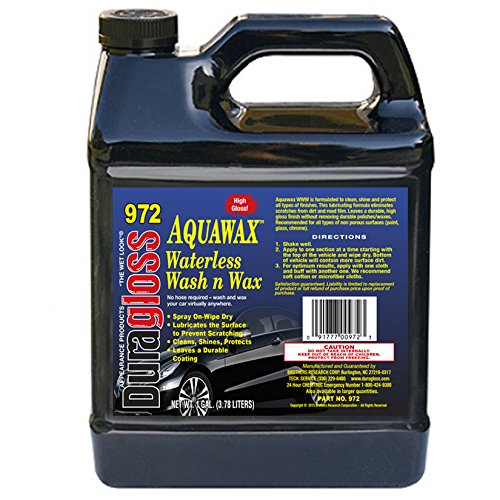 Duragloss 972 Aqua Wax Waterless Wash, 128. Fluid_Ounces