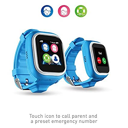 NEW TickTalk 2 0 Touch Screen Kids Smart Watch, GPS Phone watch, Anti Lost  GPS tracker with New App, Better Positioning Chip, Things To Do Reminder,