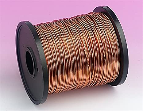 Esmaltado alambre de cobre 500 G carretes SWG32 bobina bobinado transformadores etc: Amazon.es: Bricolaje y herramientas