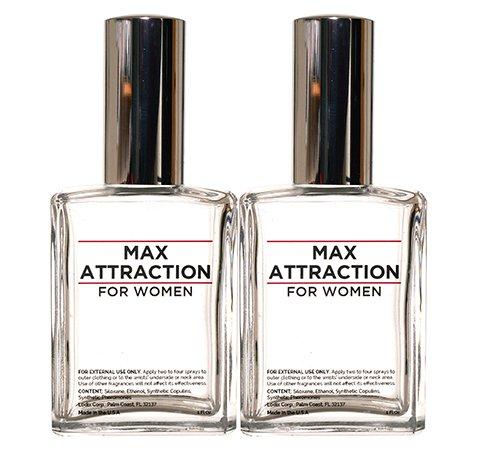 Max activité pour les femmes - phéromones pour attirer les hommes (2 Bouteilles Offre spéciale Discount)
