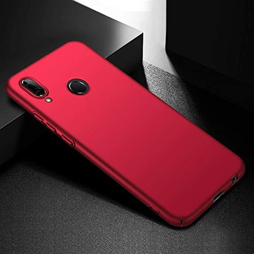TenYll Funda Huawei Honor Play, Nueva Cubierta Delgado Caso PC Back Cases Cover para Huawei Honor Play -Rojo: Amazon.es: Electrónica