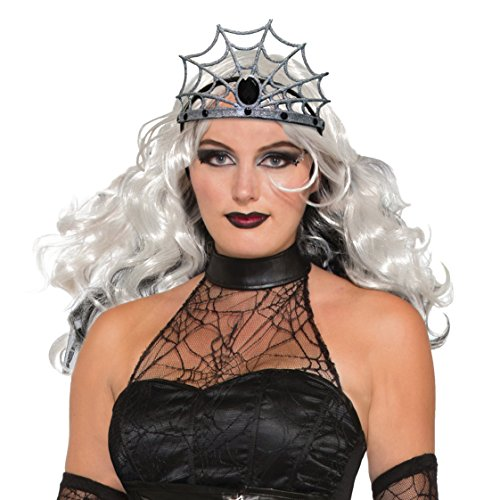 Forum Novelties Gothic Witch Wicked Evil Queen Spider Web Tiara Crown Costume Accesso Accessory for $<!--$4.33-->