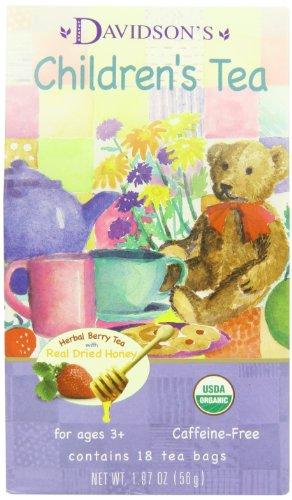 Davidson's Tea Children's Tea, 18-Count Tea Bags (Pack Of 6)