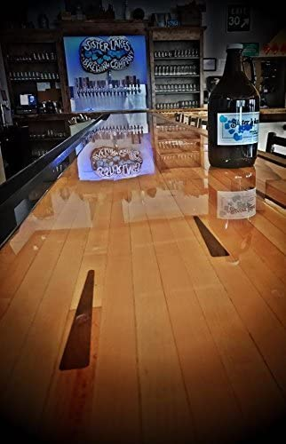 Clear Epoxy Resin | Epox It 80 Epoxy Resin & Hardener | Crystal Clear Coat for Wood Table Top, Bar, Countertop, Art | 1 Gallon Kit