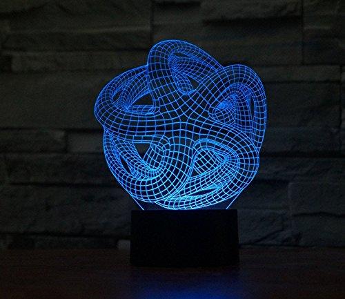 Starfish Hologram LED Night Light Lamp - Color Changing (Platinum Ninjago compare prices)